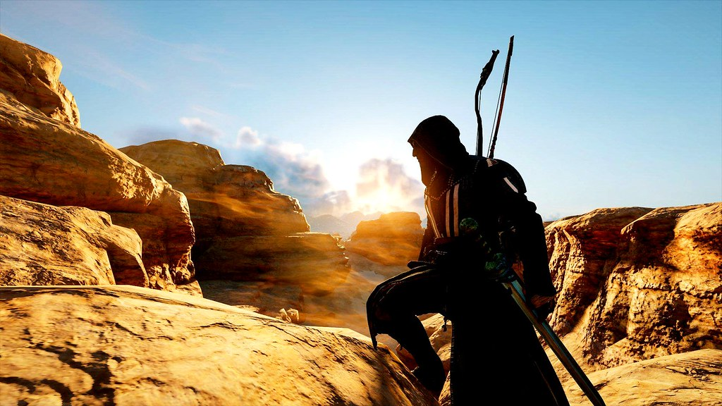 Assassins Creed Origins Black Desert Bayek Of Siwa Flickr