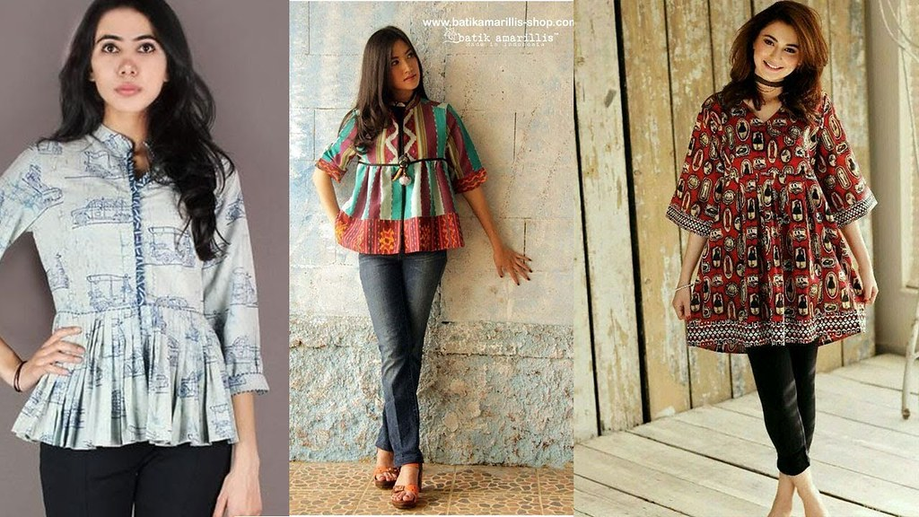 Latest Stylish Summer Frocks Style Shirts Designs 2018 Video Volume 3 A Photo On Flickriver