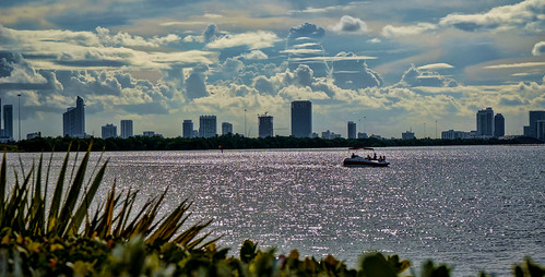 biscaynebay sea blue seascape clouds waterways walking walkingaround urbanexploration architecture afternoon outdoors cityscapes