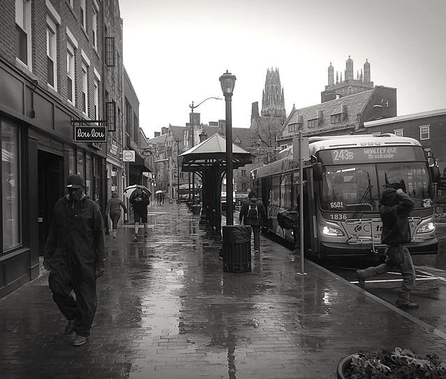 Street scene New Haven