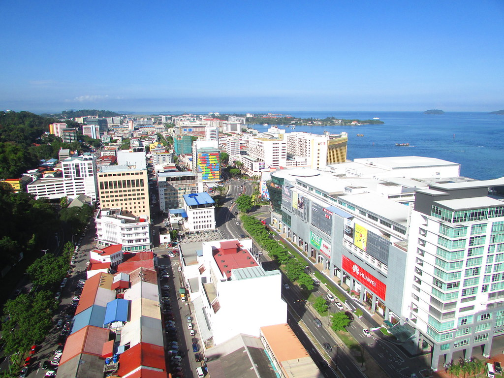 View over Downtown Kota Kinabalu | Years ago I have always d… | Flickr