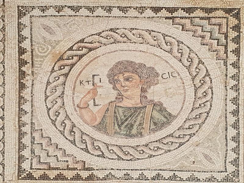 Griechisches Mosaik