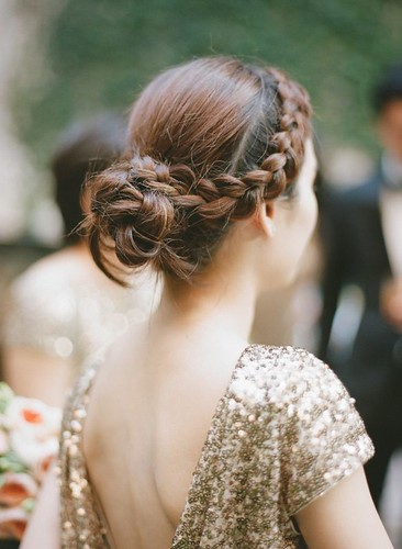 Coiffure De Mariage  : featured photo: Rebecca Yale | by flashmode.be