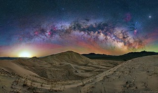 Milky Way Arch Over Kelso Dunes | by TransientAstronomer