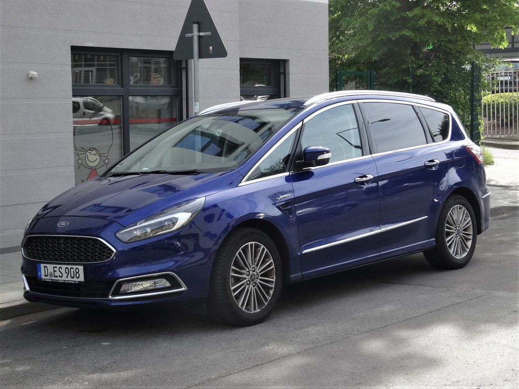 2017 Ford S-Max Vignale | The second generation of the Ford … | Flickr