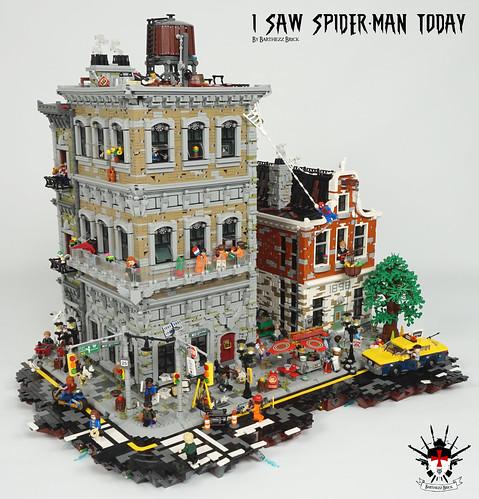 LEGO I Saw Spider-Man Today