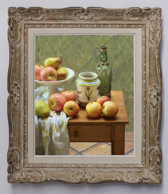 Still Life After Cezanne - Diamonds