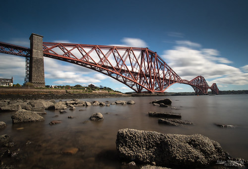 schottland unesco firth fluss scotland brücke river exposure long uk sky edinburgh bridge forth langzeitbelichtung lzb northqueensferry vereinigteskönigreich gb