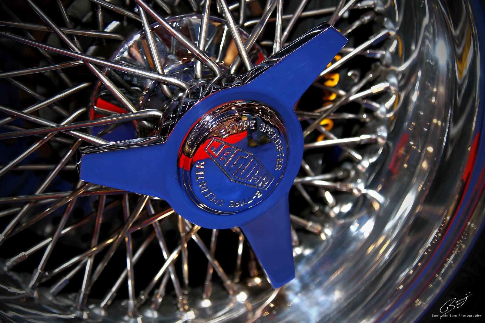 Jaguar E Type Speedster Wheel