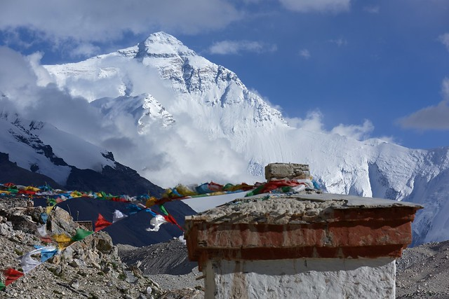Mt Everest, Lady of Glaciers, Tibet 2017