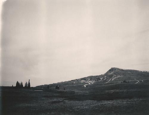 brian head mountain slope geology utah film polaroid 664 automatic250