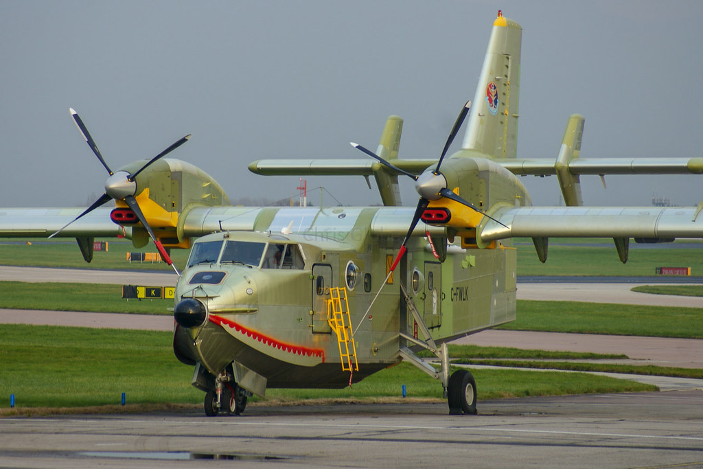 C-FWLK | Canadair CL-415MP | Bombardier Inc