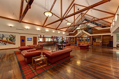 Fairmont Resort Lobby