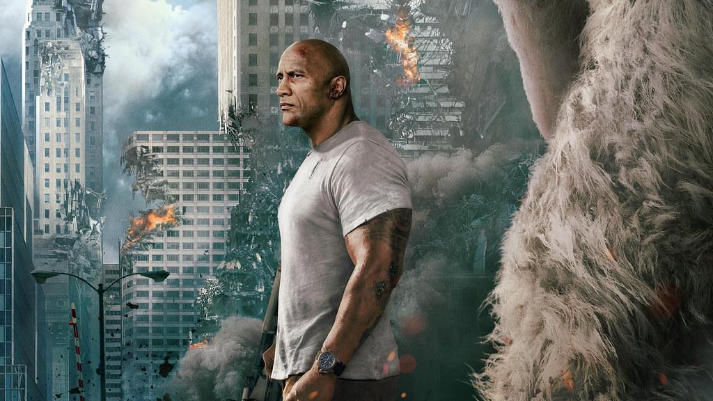 Rampage 2018 Movie Wallpaper Livewallpaperswidecommovies