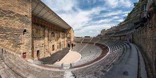 Roman Theatre in Orange 2008