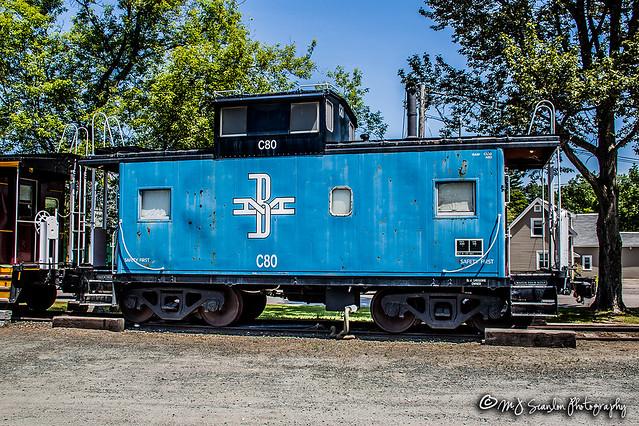 B&M C80   Caboose   Winnipesaukee Scenic Railroad