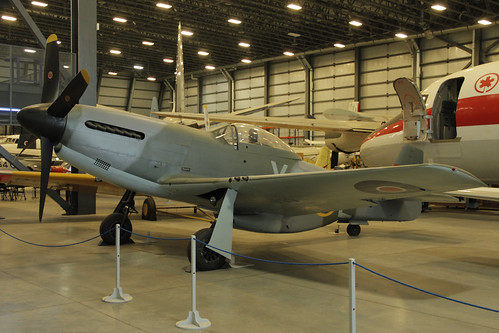 North American P-51 Mk. IV at the CASM, Ottawa