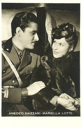 Amedeo Nazzari and Mariella Lotti in Quelli della montagna (1943)