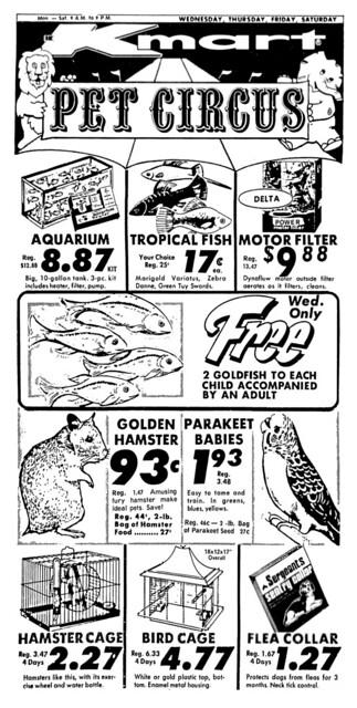 Kmart Pet Circus - 1972