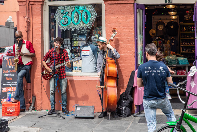Street Music in The French Quarter