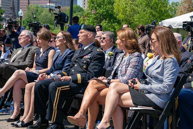 Massachusetts Military Heroes Fund Memorial Day Ceremony 05.24.18
