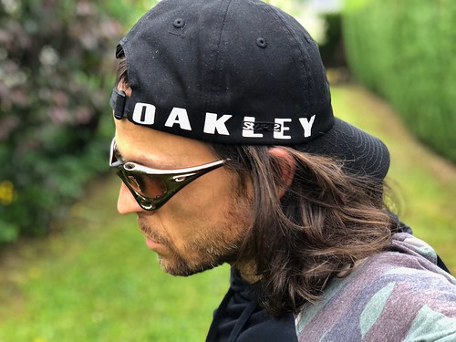 Oakley Racing FMJ Dark Chrome VR50 to Brown Transition | by paquit0