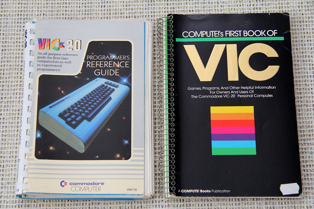 15a-C64-Books-VIC20 | MindFlare Retro | Flickr