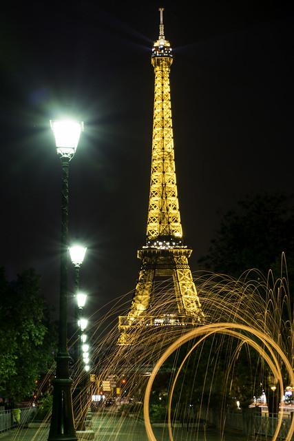 tour Eiffel et sparks