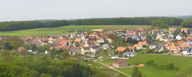A Village from above