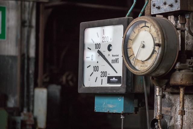 Kraftwerk Peenemünde: Messanzeigen