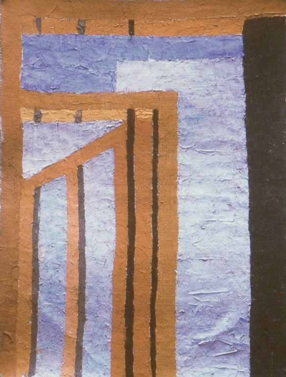 Porta II - Oil on jute 1997
