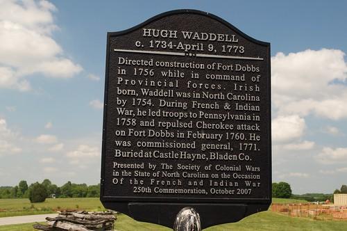 fortdobbshistoricsite hughwaddell iredellcounty northcarolina statesville