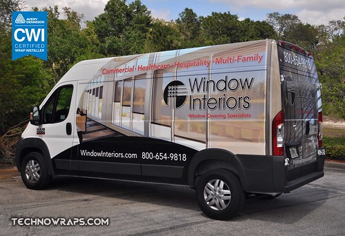 Cargo van wrap by TechnoSigns in Orlando