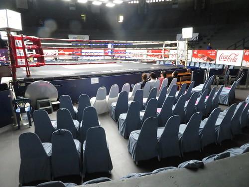 ラジャダムナン・スタジアムのリングサイド席