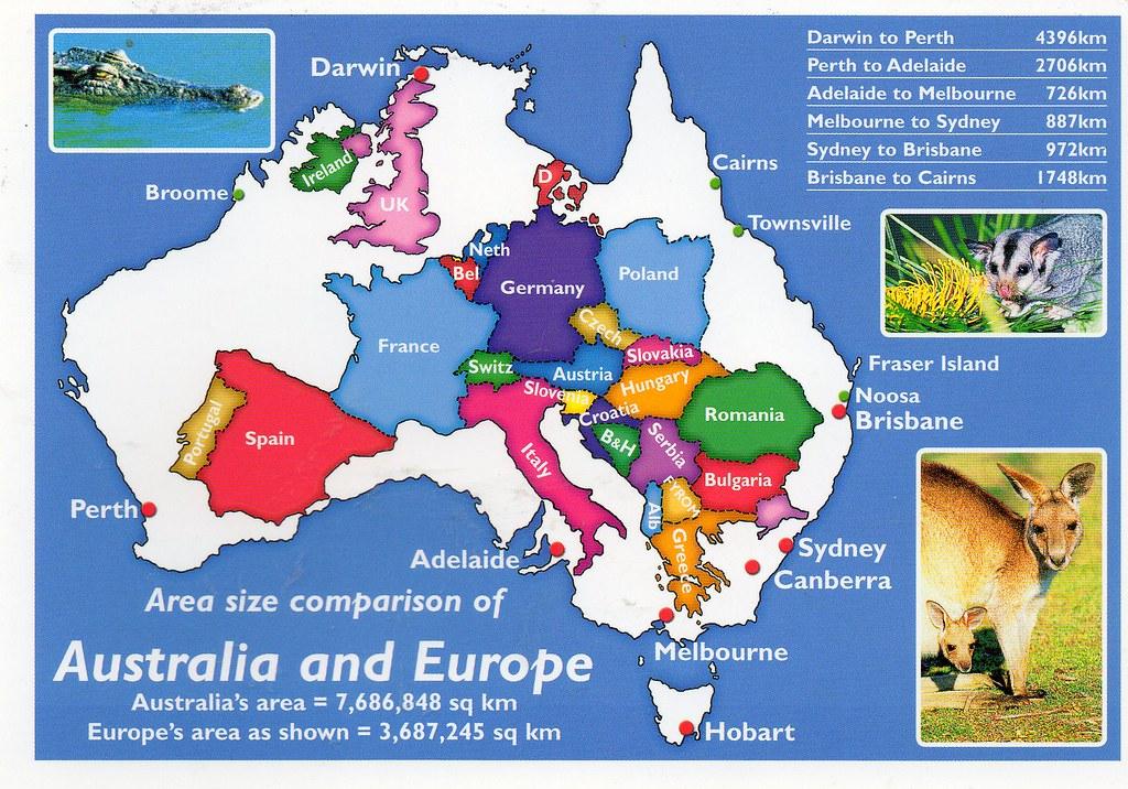 Map Of Europe In Australia.Au 549087 Map Europe Over Australia Postcrossing Postcar Flickr