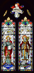 The Risen Christ and St Cedd with Bradwell chapel