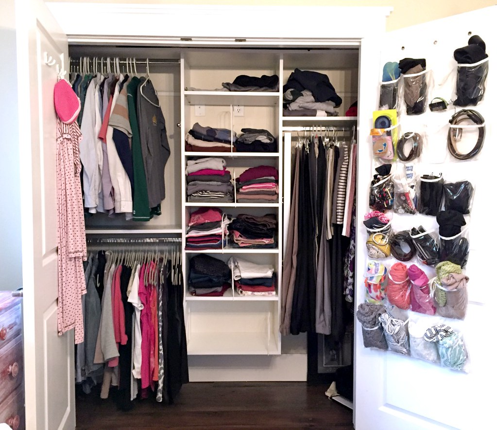 messy master closet