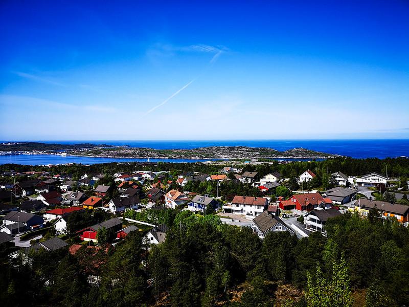 37-Utsikt over Dale og Skorpa i Kristiansund fra Kvernberget