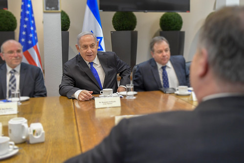 Secretary Pompeo Participates in Expanded Meeting with Prime Minister Netanyahu | by U.S. Department of State