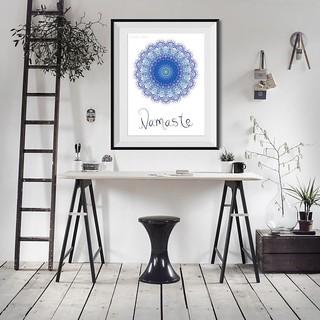 7db5e9cd popular-items-for-yoga-studio-decor-on-etsy-namaste-art-ty… | Flickr