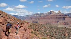 Grand Canyon - South Kaibab Trail, nearing Skeleton Point (5)