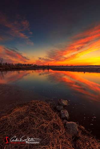 andrewslaterphotography clouds foxriver landscape nature outdoors place sunset vernon water wisconsin waukesha unitedstates us country waukeshawi wildlife preserve river