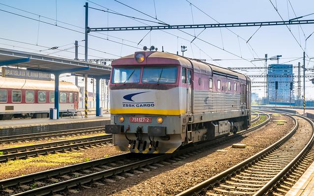751 127-2 ZSSK Cargo Bratislava Hl.s 09.04.18