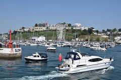 Busy Torquay Harbour