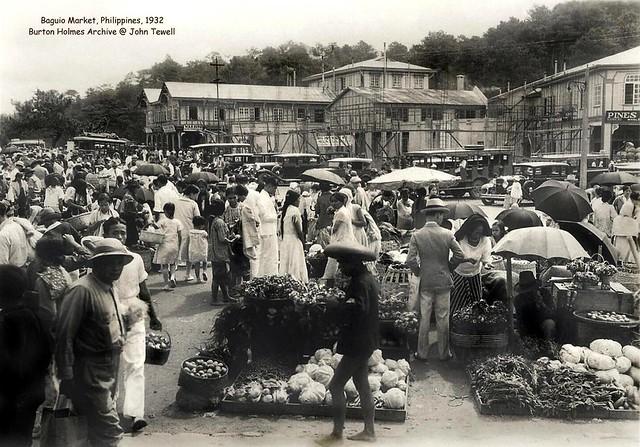 Baguio Market, Philippines, 1932