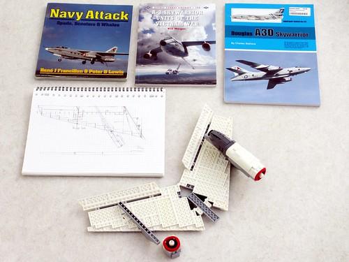A-3B Skywarrior WIP