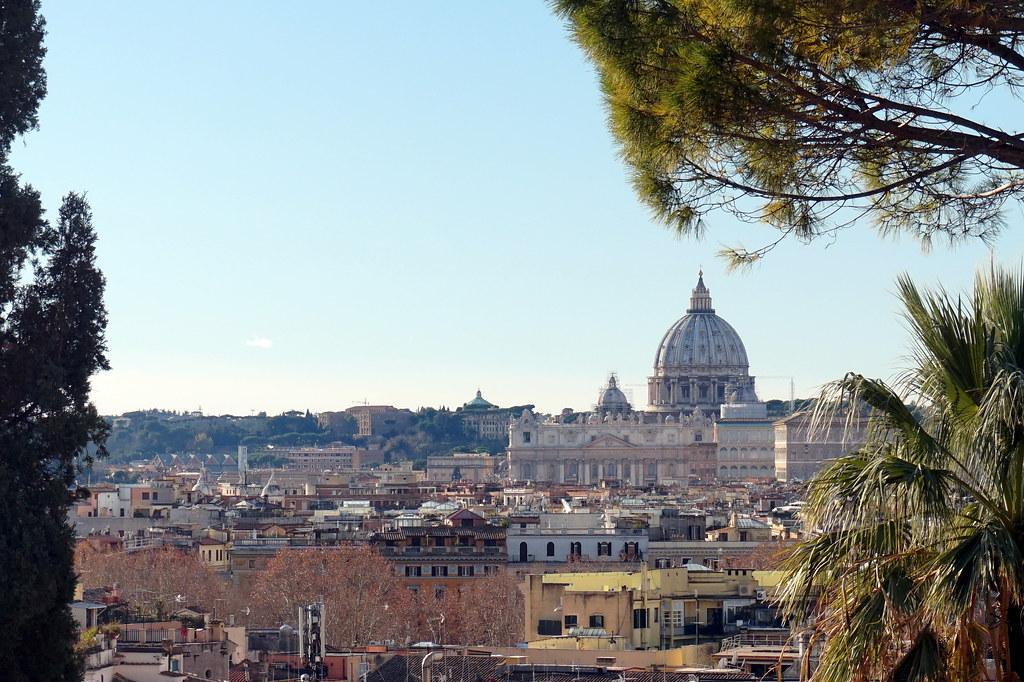 View From Terrazza Del Pincio Of Rome Italy Matt Kieffer