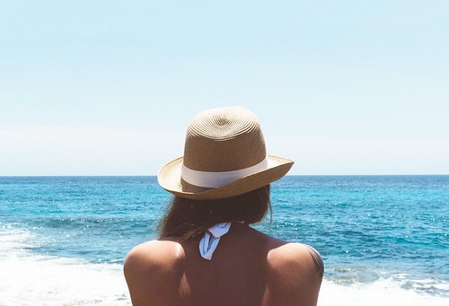 Woman in Hat Looking at the Sea - Credit to https://bestpicko.com/ | by Bestpicko