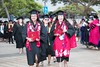 """The University of Hawaii–West Oahu celebrated spring 2018 commencement on Saturday, May 5, 2018 at the Courtyard. About 240 students out of the roughly 320 spring 2018 graduates participated in the commencement ceremony. Photos by UH West Oahu staff.  View more photos on the UH West Oahu Flickr site at <a href=""""https://www.flickr.com/photos/uhwestoahu/albums/72157694829763041"""">www.flickr.com/photos/uhwestoahu/albums/72157694829763041</a>"""