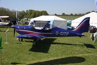 G-CITF Evektor EV-97 [2015-4223] Popham 050518 | by peterolding